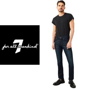 7 For All Mankind Paxtyn Skinny Jeans - 33x32